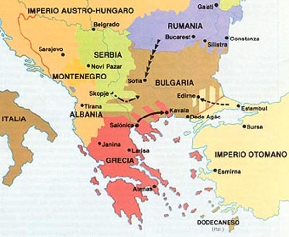 Conflicto entre emperadores balcanes