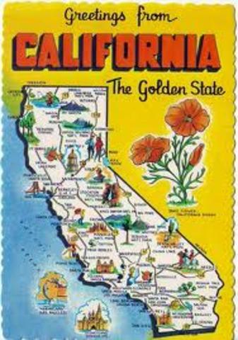 California Applies For Statehood