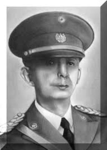 General Andres Ignacio Menéndez Presidente provisorio
