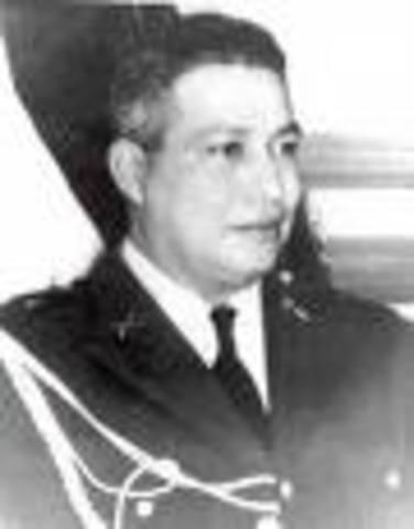 Teniente Coronel Oscar OsorioPresidente de la República