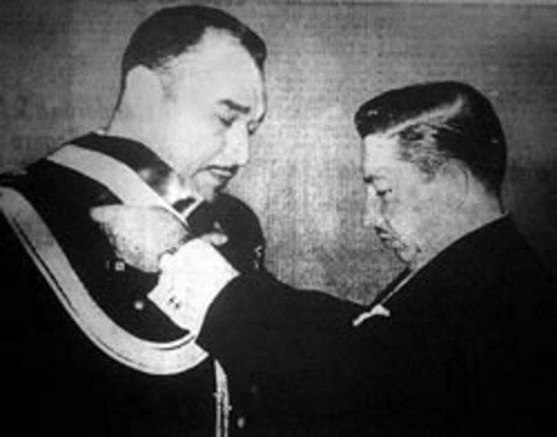 Teniente Coronel Julio Adalberto Rivera Presidente de la República