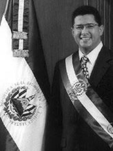 Licenciado Francisco FloresPresidente de la República