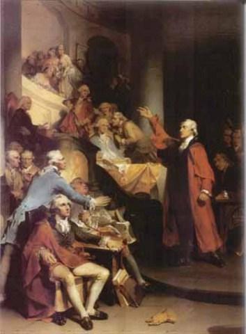"Patrick Henry's ""If this be treason"" speech"
