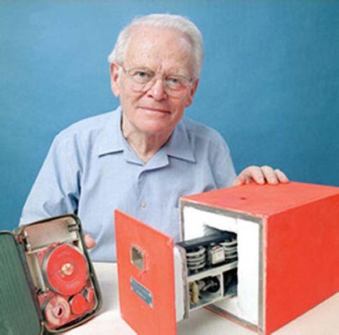 Invention of the black box - flight recorder.