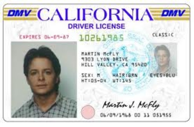 Driver License.