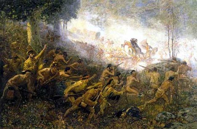 General Braddock's defeat