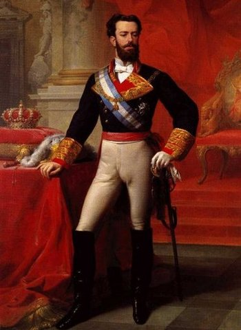 Amadeo de Saboya (Amadeo I), reina España.