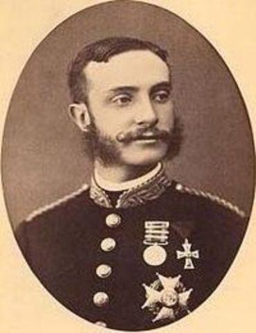 Alfonso XII  proclamado rey