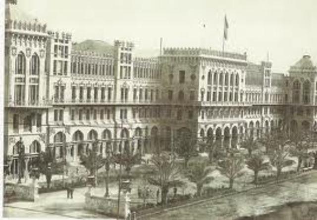 Primera Exposición Universal en España en el año 1888