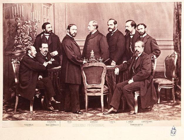 Formación de un gobierno provisional