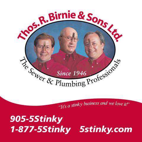Thos. R. Birnie Major Sponsor