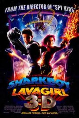 Shark boy and Lava girl