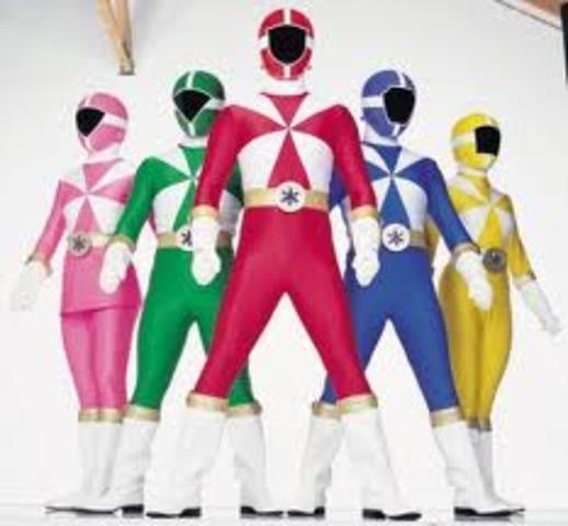 Power Rangers Lightspeed