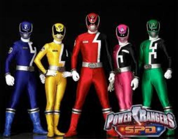 Power Rangers S.P.D