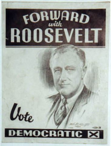 FDR is Elected as President