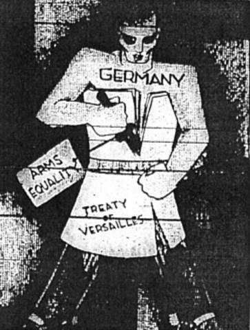Hitler defies the Treaty of Versailles-