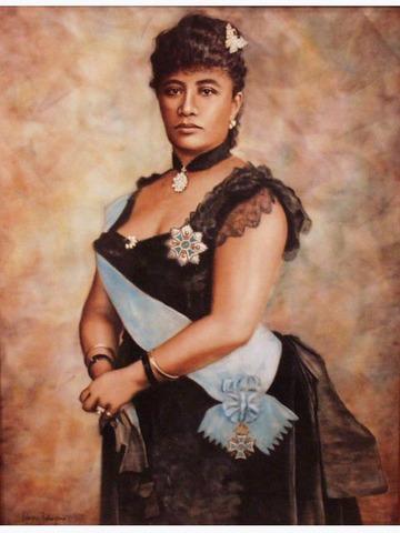 Queen Liliuokalani became leader of Hawaii.