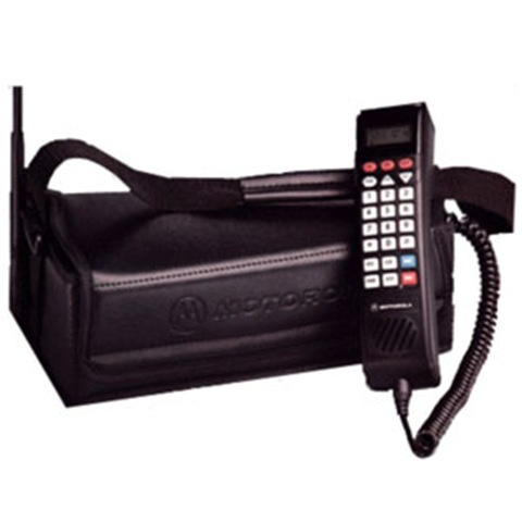 oh yes, the bag phone.