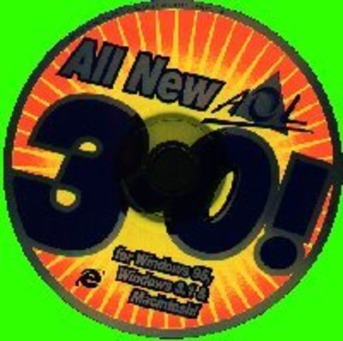 The AOL disk