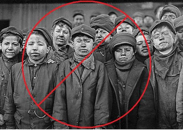 In the 1930s, child labor was banned and school attendance was required until the age of 16.