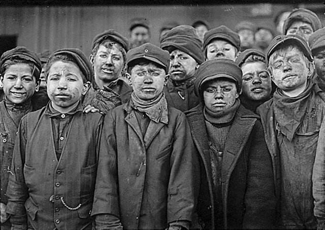 As late as 1910, 2 million children were working across America.