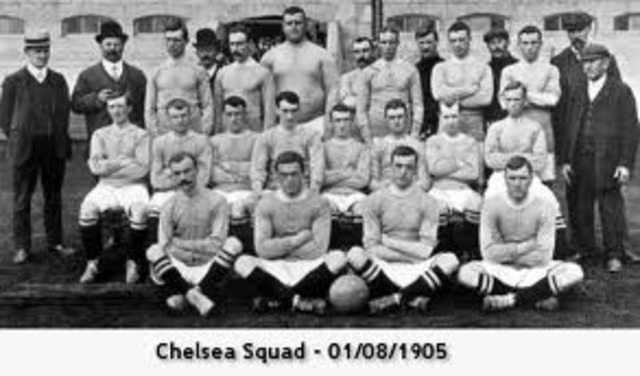 First Chelsea team