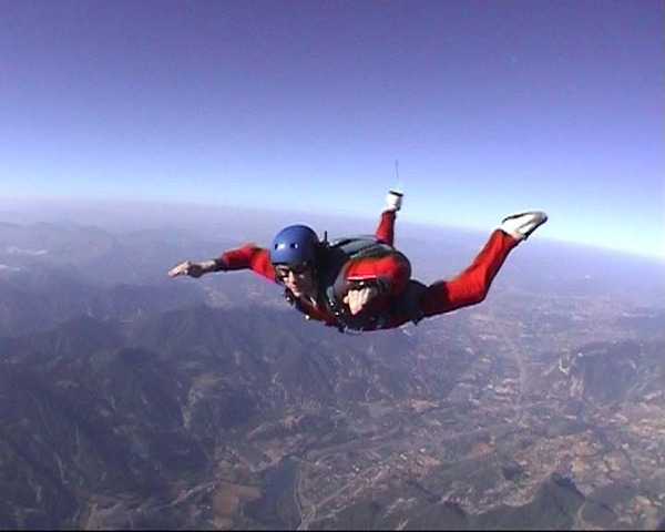 Going Sky-diving