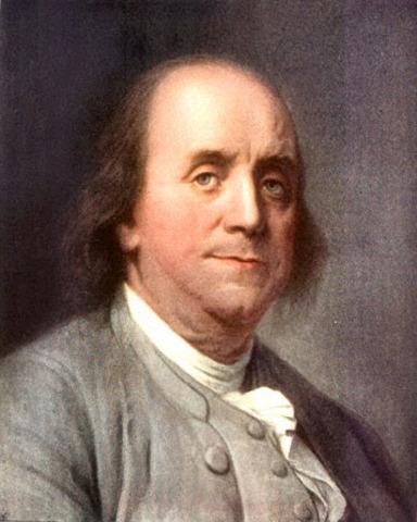 Franklin's Unique Counterfeit Deterrent