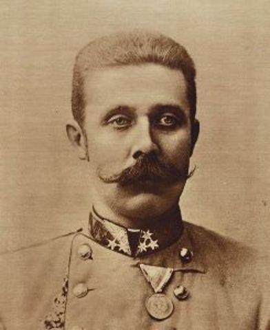 Asesinato en Sarajevo, del heredero al trono de Austria