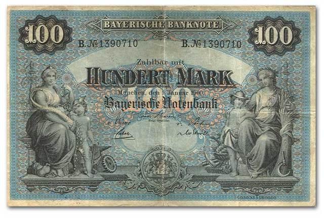 WWI Money