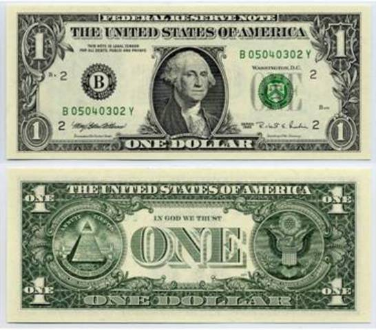 U.S. Official Currency