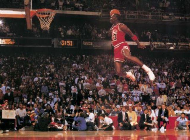 playing basketball with jordan