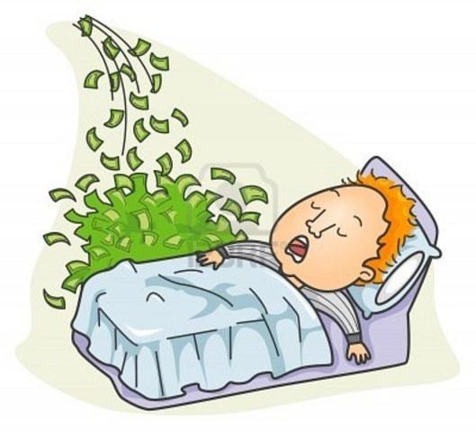 To make money while I'm sleeping