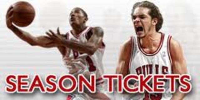Owning Season Tickets to the Bulls season
