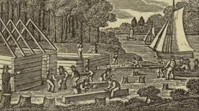 Jamestown was founded in Virginia.