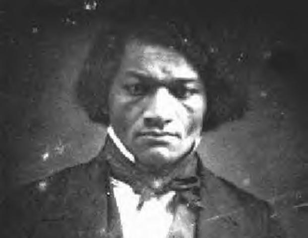 Frederick Douglass escaped from slavery.