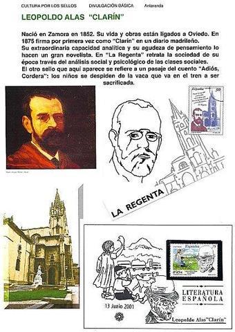 Nace en Zamora Leopoldo Alas Clarín