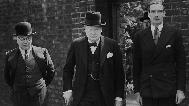 Churchill is Elected Prime Minister in England