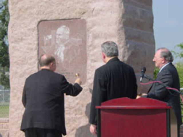 Pope John Paul II Historical Marker Ceremony