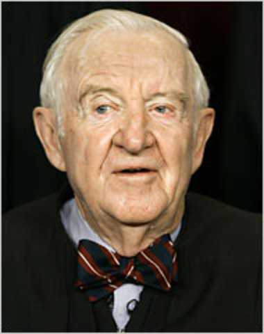 Justice John Paul Stevens Retires
