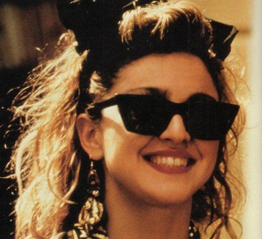 M stars in 'Desperatly Seeking Susan' her 1st major film role