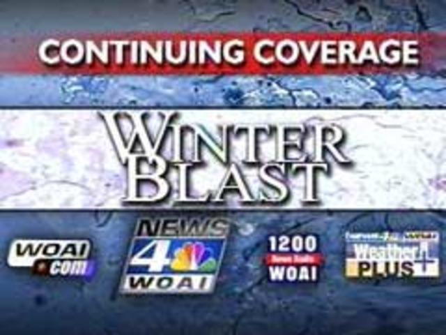 Artic Blast shuts down San Antonio