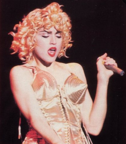 'Blonde Ambition Tour' starts