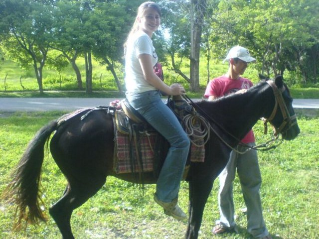 My first time Riding a Horse!