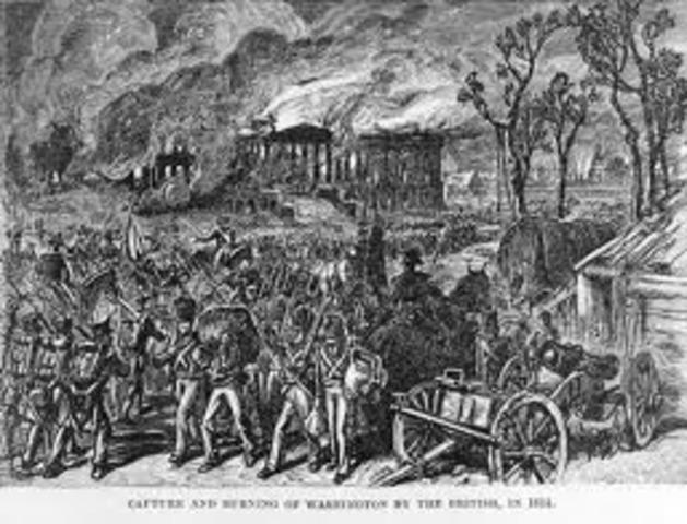 British Burned important Buildings in D.C