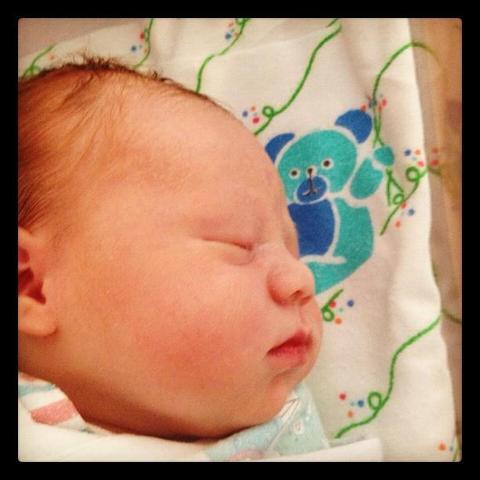 Arya is born! (My beautiful Niece)