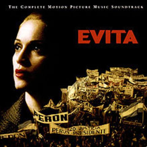 'Evita' soundtrack is released