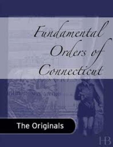 Fundamental Orders of Conecticut