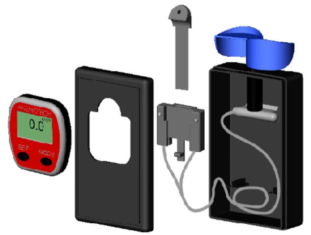 Assemblage du prototype de l'anémomètre