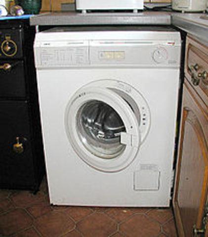 Το πλυντήριο ρούχων!